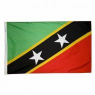 5' X 8' Nylon St. Kitts-Nevis Flag