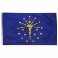 6' X 10' Nylon Indiana State Flag