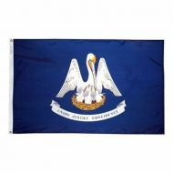 8' X 12' Nylon Louisiana State Flag