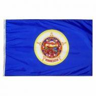 12 X 18 Inch Nylon Minnesota State Flag