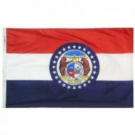 8' X 12' Nylon Missouri State Flag