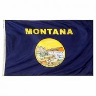 6' X 10' Nylon Montana State Flag