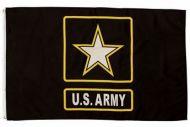 Lightweight Poly Army Star Flag