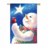 Frosty Magic House Flag