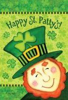 Happy St Patty's Garden Flag