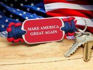 Make America Great Again Key Fob