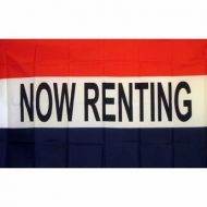 Lightweight Poly Now Renting Flag