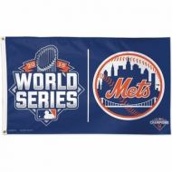 NY Mets 3' X 5' 2015 World Series Flag