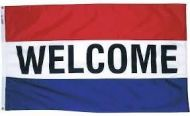 Premium Nylon Welcome Flag