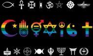Rainbow Co-Exist Diversity Flag