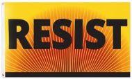 Resist Banner Protest Flag