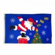 Roof Top Santa Flag