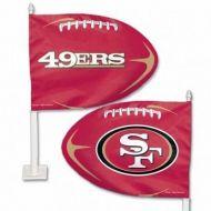 San Francisco 49ers Car Flag