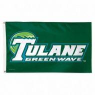 Tulane University Flag - 3' X 5'