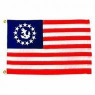 U.S. Yacht Ensigns - Marine Grade Nylon