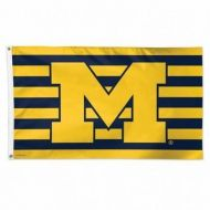 University of Michigan Stars and Stripes Flag