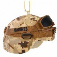 USMC Combat Helmet Ornament