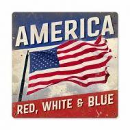 Vintage America Sign