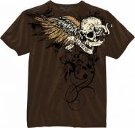 Vintage Brown Airborne Death From Above T-Shirt