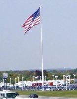 120' Steel Flagpole - Standard Duty