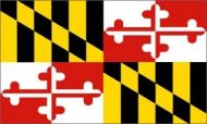 Economy Printed Maryland State Flags