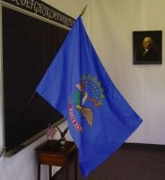 2' X 3' North Dakota Classroom Flag