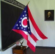 2' X 3' Ohio Classroom Flag