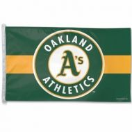 3' X 5' Oakland Athletics Flag