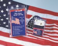 Embroidered Marine-Grade Nylon US Boat Flags