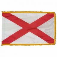 4' X 6' Nylon Indoor/Parade Alabama State Flag