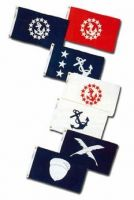 Yacht Club Officers Flags