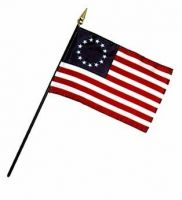 Betsy Ross Stick Flags