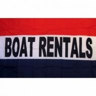 Lightweight Poly Boat Rentals Flag