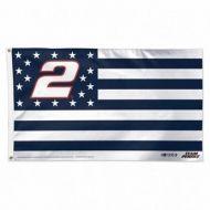 Brad Keselowski Stars & Stripes Flag