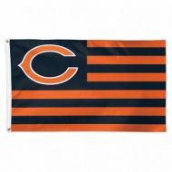 Chicago Bears Americana Flag