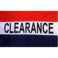Lightweight Poly Clearance Flag