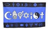 Co-Exist Diversity/Tolerance Flag