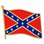 Confederate Flag Pin
