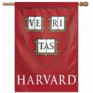 Harvard College Vertical Flag
