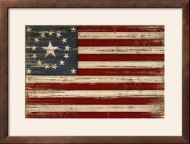 Historic American Flag Framed Print