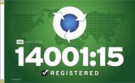 ISO 14001:15 Flag