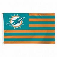 Miami Dolphins Americana Flag