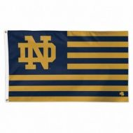 Notre Dame Stars & Stripes Flag