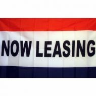 Lightweight Poly Now Leasing Flag