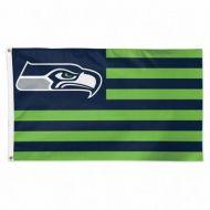 Seattle Seahawks Americana Flag