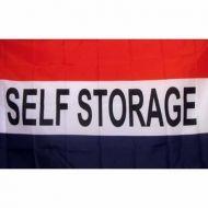 Lightweight Poly Self Storage Flag
