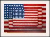 Three Flags Jasper Johns Framed Art Print