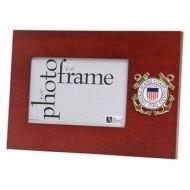 U.S. Coast Guard Medallion Desktop Picture Frame