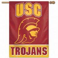 USC Trojans Vertical Flag Banner