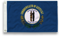 3' X 5' State-Tex Commercial Grade Kentucky State Flag